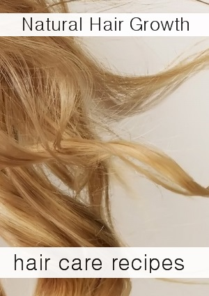 hair growth recipes thinning hair grow hair faster hair